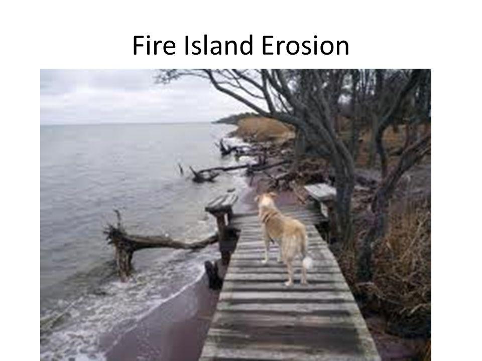 Fire Island Erosion