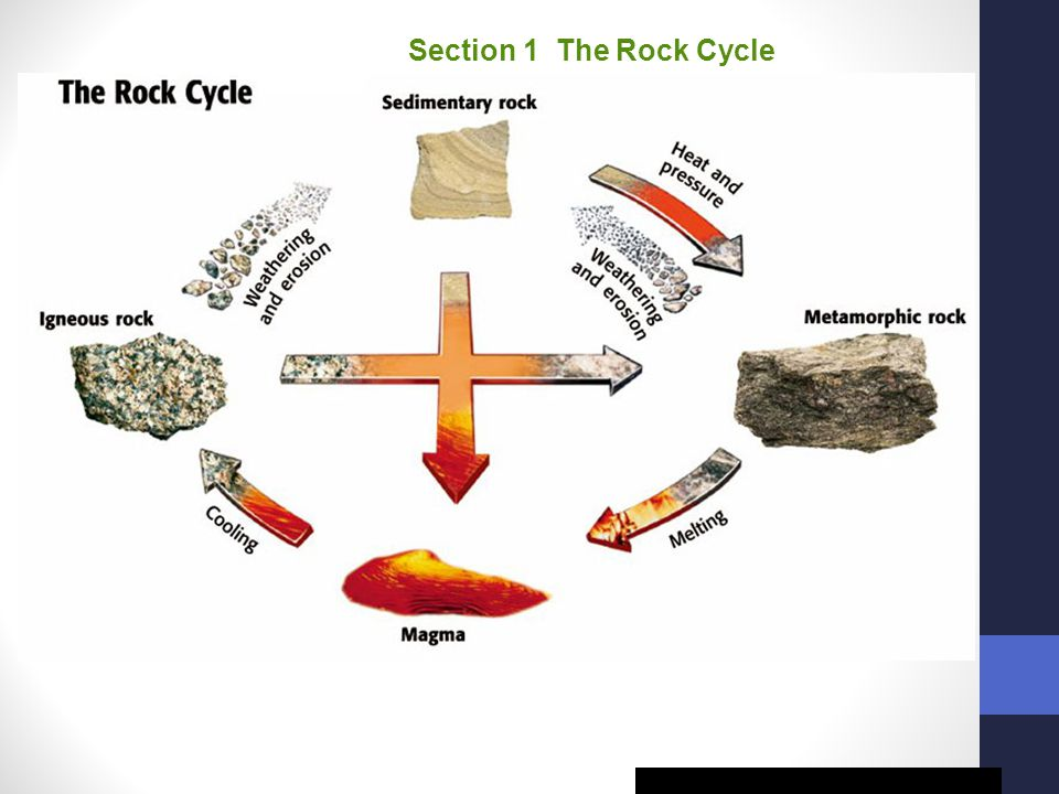 Chapter 14 Section 1 The Rock Cycle