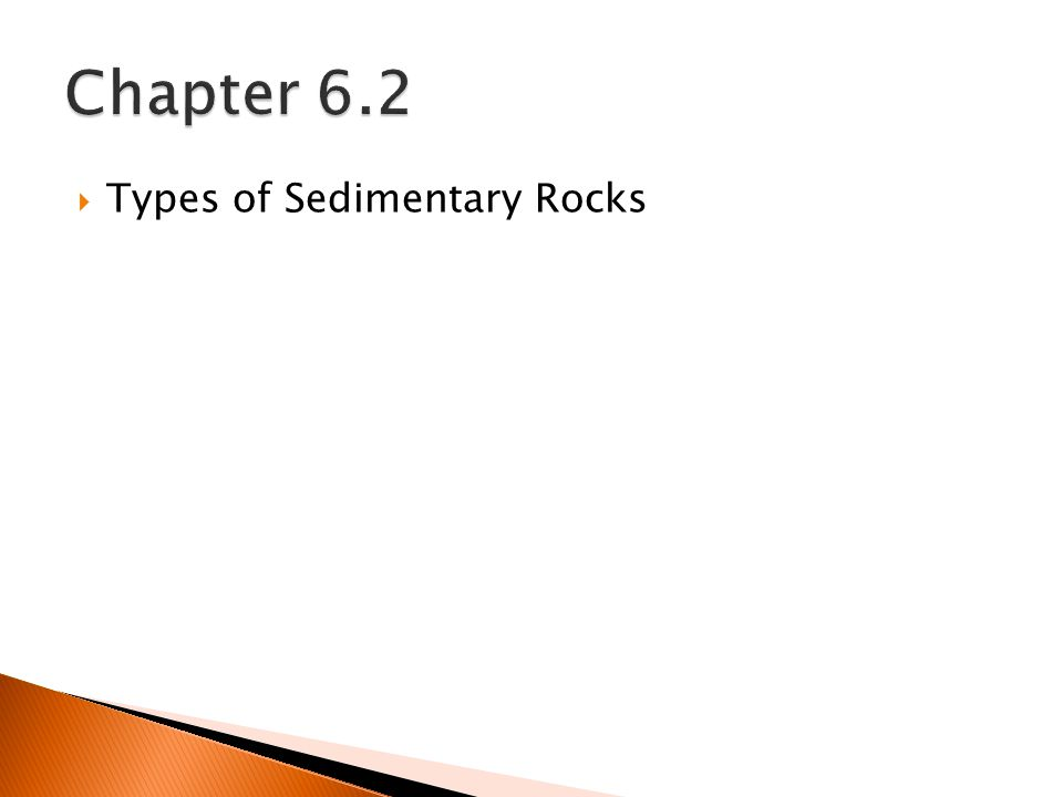  Types of Sedimentary Rocks