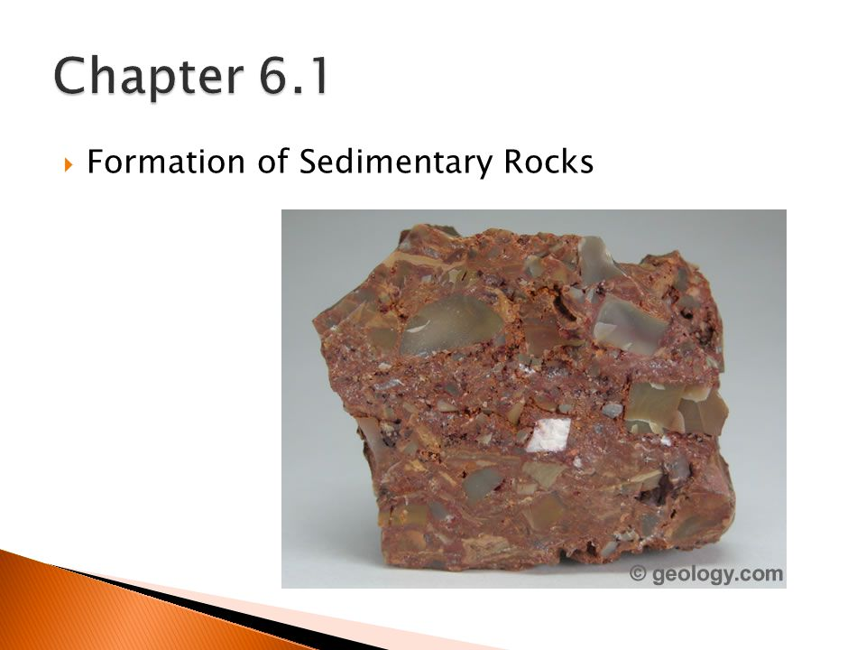  Formation of Sedimentary Rocks