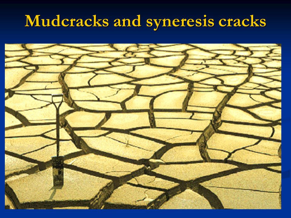 Ball-and-pillow structures protrusions extending downward from a sand layer into an underlying mud or very fine sand layer