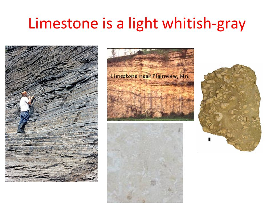 Sandstones are made up of sand-sized grains most common is quartz