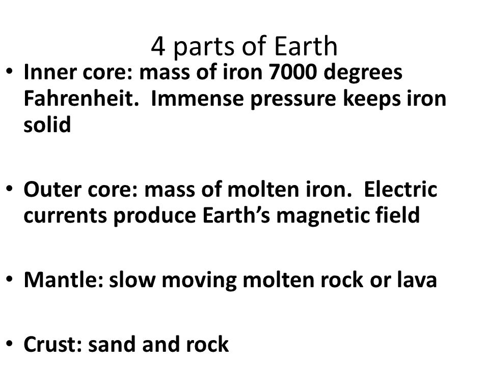 Composition of Magma Mix of molten rock, gases, and mineral crystals Elements: O, Si, Al, Fe, Mg, Ca, K, Na Compound most abundant: Silica Silica content affects melting temperature and impacts how quickly magma flows