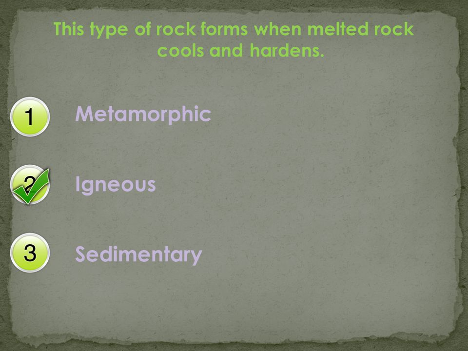 This type of rock forms when pieces of other rocks are deposited into layers.