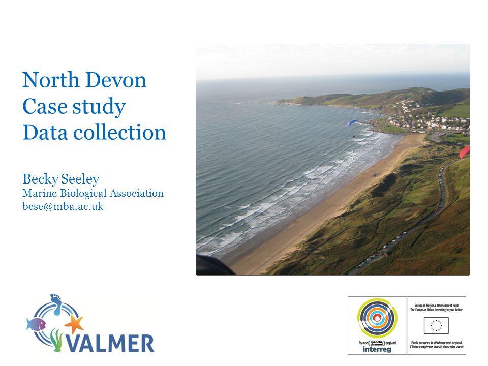 Sedimentary habitats in the North Devon Case study area Muds