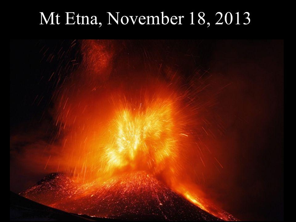 Mt Etna, November 18, 2013