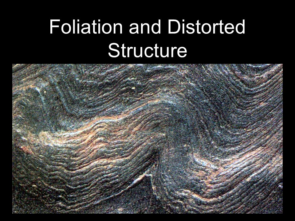 Foliation and Distorted Structure