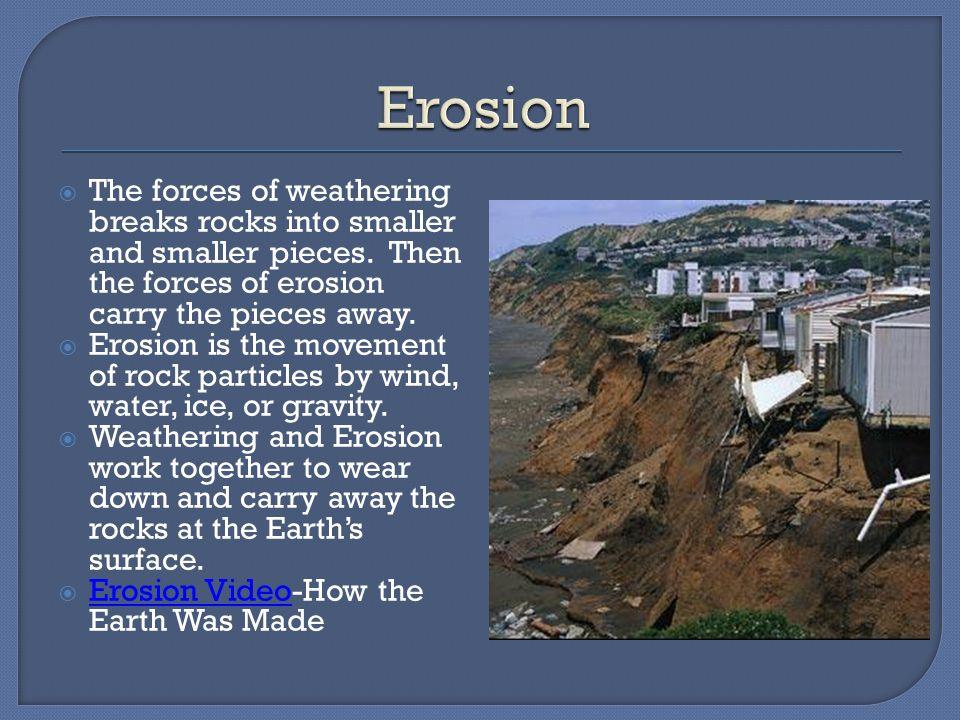  Most destructive kind of mass movement is a landslide.