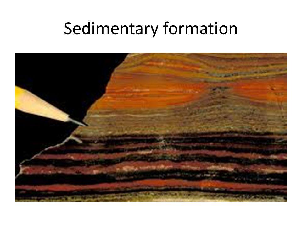 Sedimentary formation