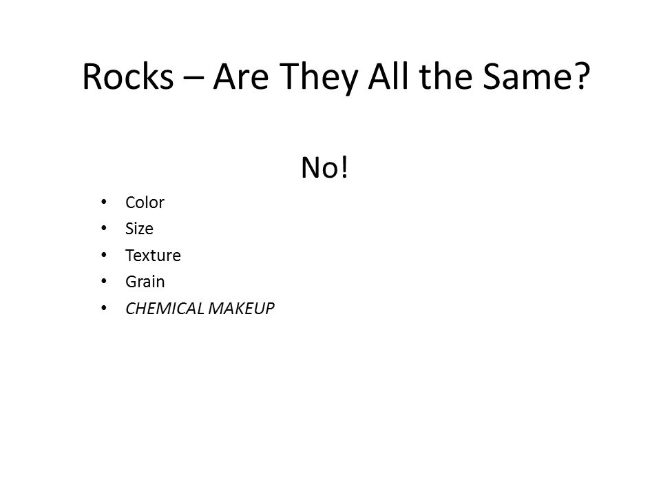 Two Types of Metamorphic Rocks Foliated = layers/bands (folds) ex: Gneiss Non-foliated = no layers/bands ex: Marble