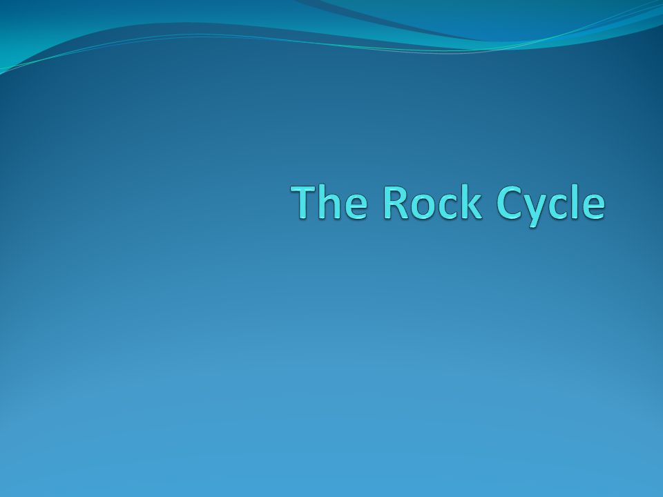 Overview of the Rock Cycle The rock cycle describes Earth's natural process of recycling rocks and sediments.