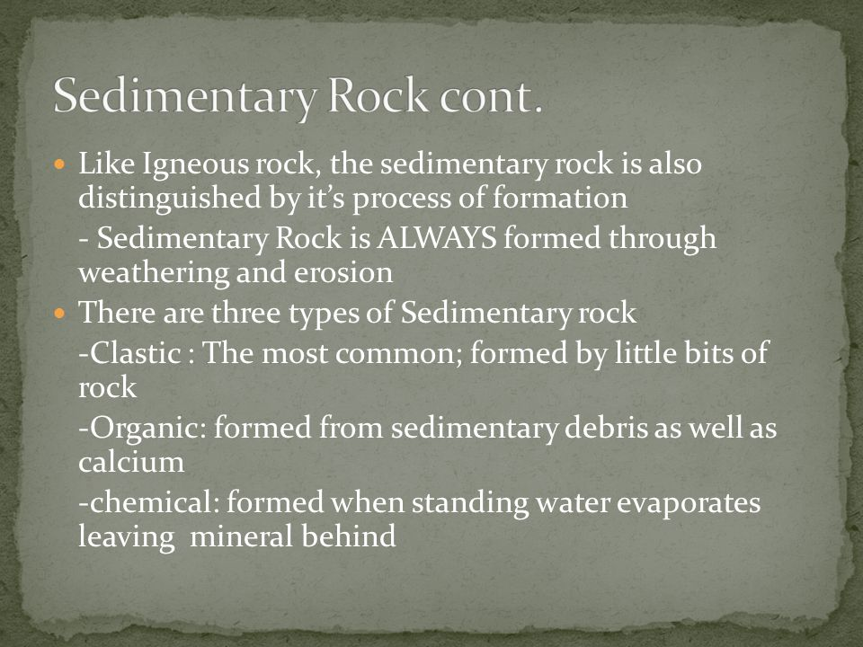Metamorphic rock is simply igneous or sedimentary rock that has taken on a new form through the process of heating and pressurization.