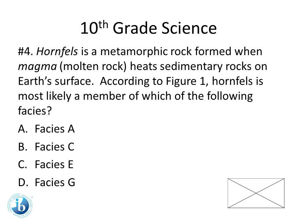 10 th Grade Science #4.