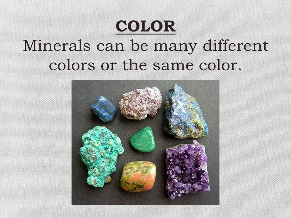 HARDNESS Hardness refers to a mineral's ability to scratch another mineral or be scratched by another mineral.