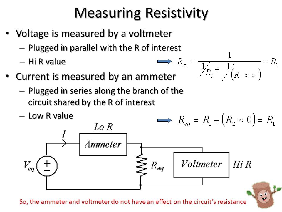 Apparent Resistivity In a VES survey the ratio V/I is measured with increasing electrode spacing… In a VES survey the ratio V/I is measured with increasing electrode spacing… – The ratio changes for two reasons: 1.Layers of differing resistivity are encountered 2.The electrodes are now farther apart – Causes measured resistance to decrease.