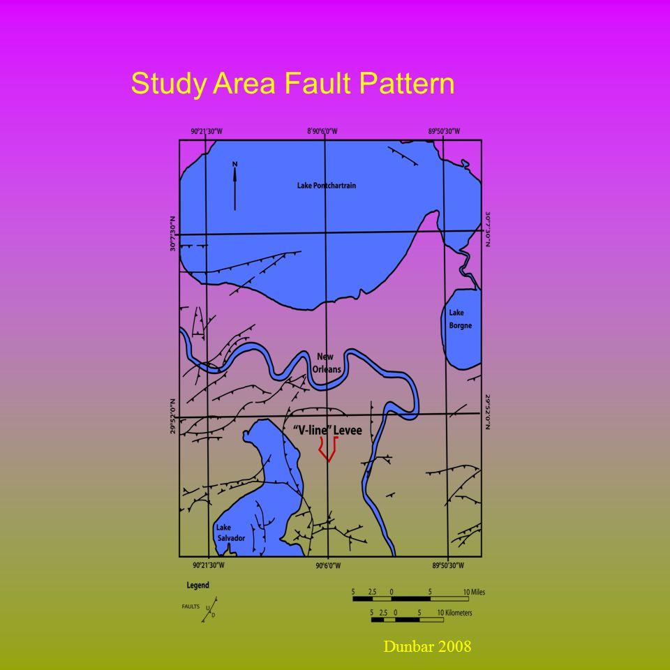 Study Area Fault Pattern Dunbar 2008