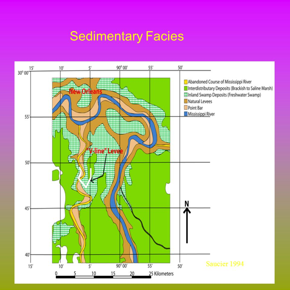 Sedimentary Facies Saucier 1994