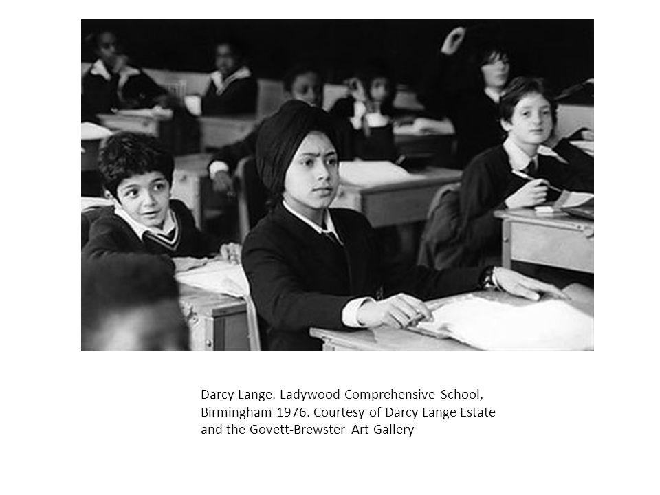 Darcy Lange. Ladywood Comprehensive School, Birmingham 1976. Courtesy of Darcy Lange Estate and the Govett-Brewster Art Gallery