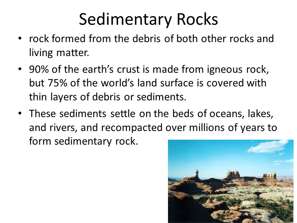 How are Sedimentary Rocks Formed.