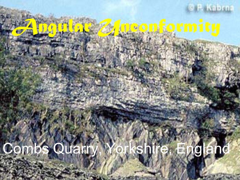 Angular Unconformity Siccar Point, Scotland