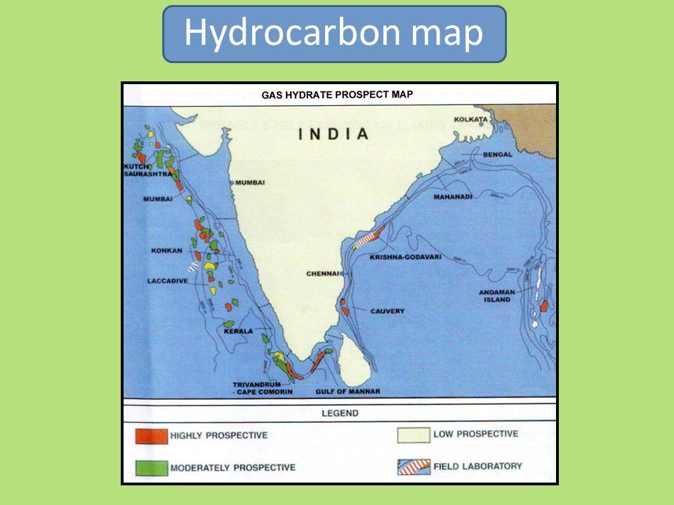 Hydrocarbon map