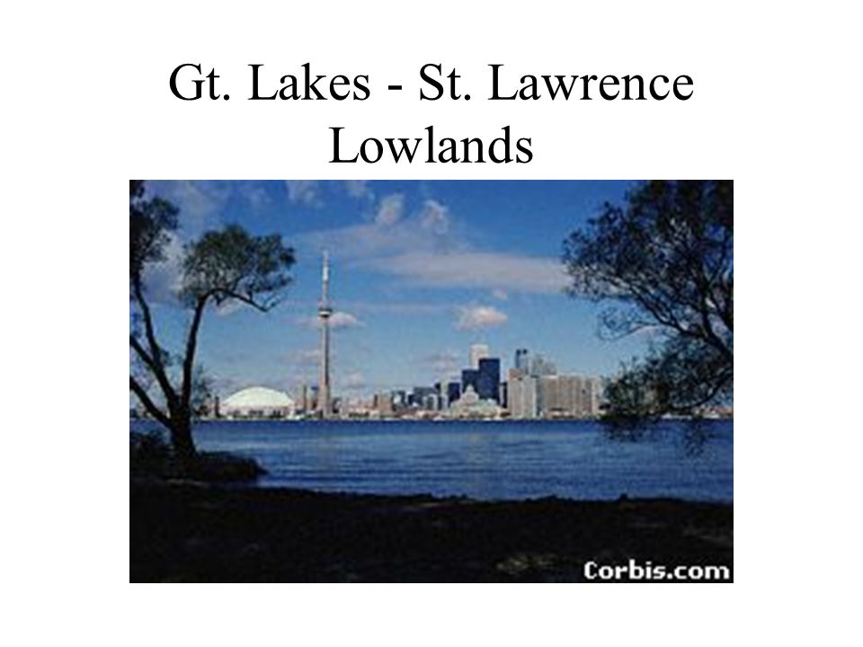 Gt. Lakes - St. Lawrence Lowlands
