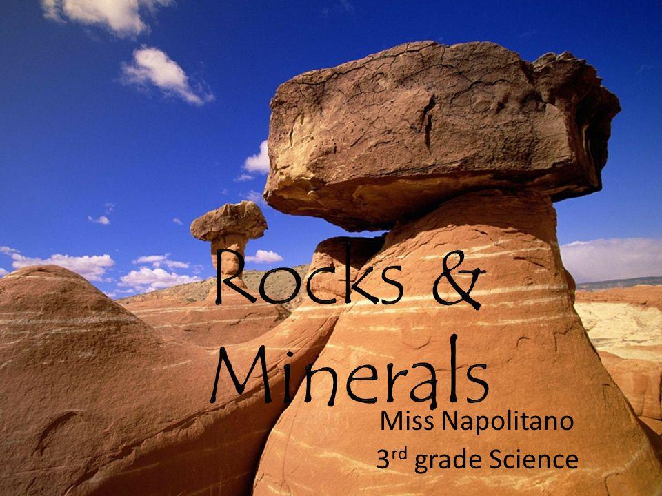 Miss Napolitano 3 rd grade Science