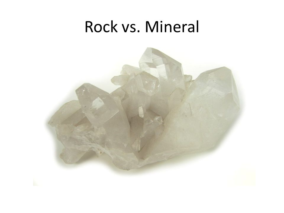 Rock vs. Mineral