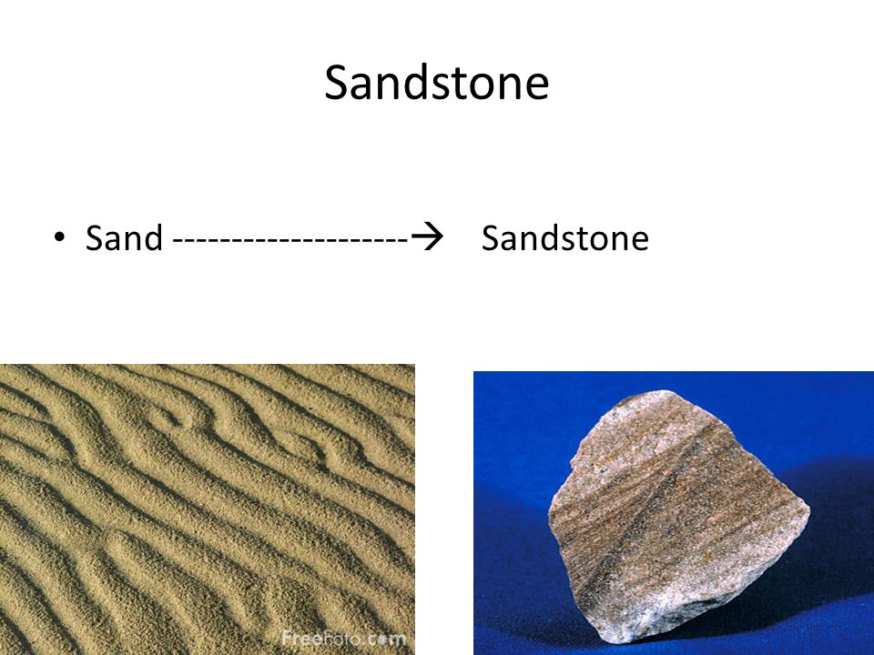 Sandstone Sand --------------------  Sandstone