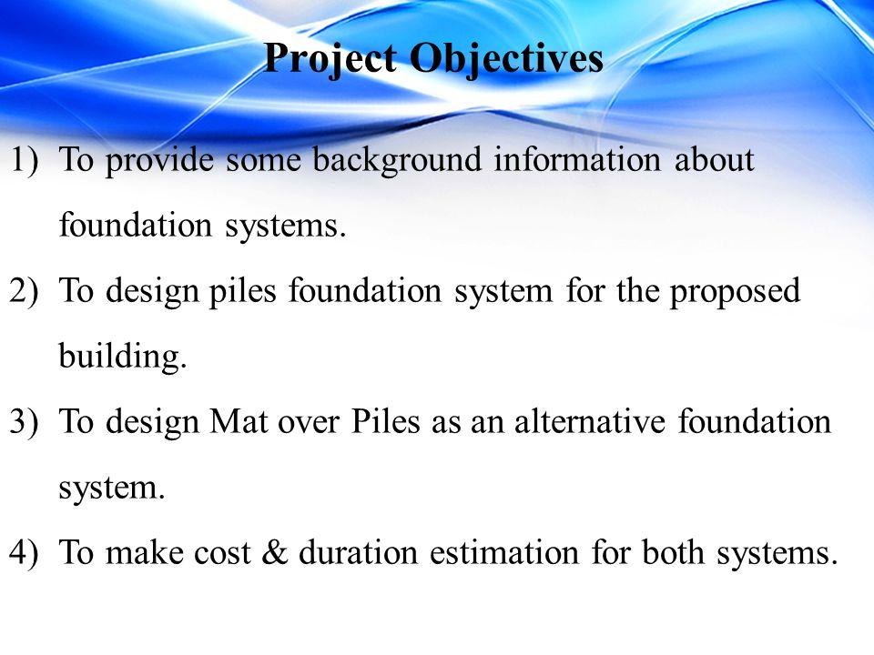 Building Description The plan area = 405m ².