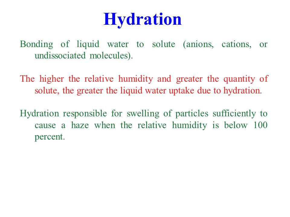 Sulfuric Acid Condensation/Dissociation (5.10) Condensation occurs primarily on accumulation mode