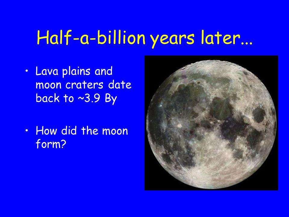 Half-a-billion years later...