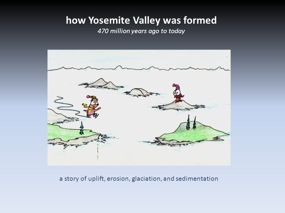how Yosemite Valley was formed 470 million years ago to today a story of uplift, erosion, glaciation, and sedimentation