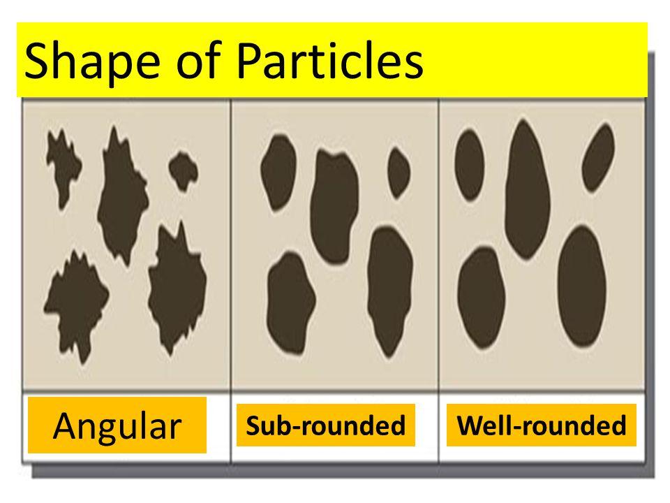 Angular clasts Rounded clasts Clastic rocks: Sedimentary Rocks
