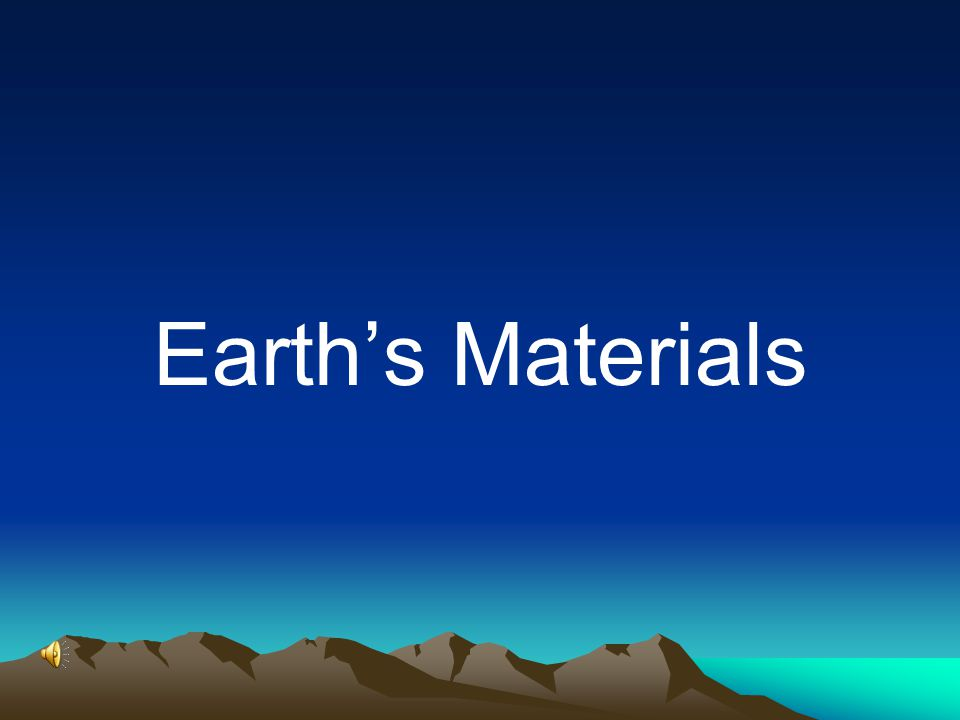 This course is divided into six units five main topics Introduction (1) Material Of the Earth (2) Geologic Time (3) Earth's Internal Processes (4) Earth's External Processes (5) Geologic Resources (6)
