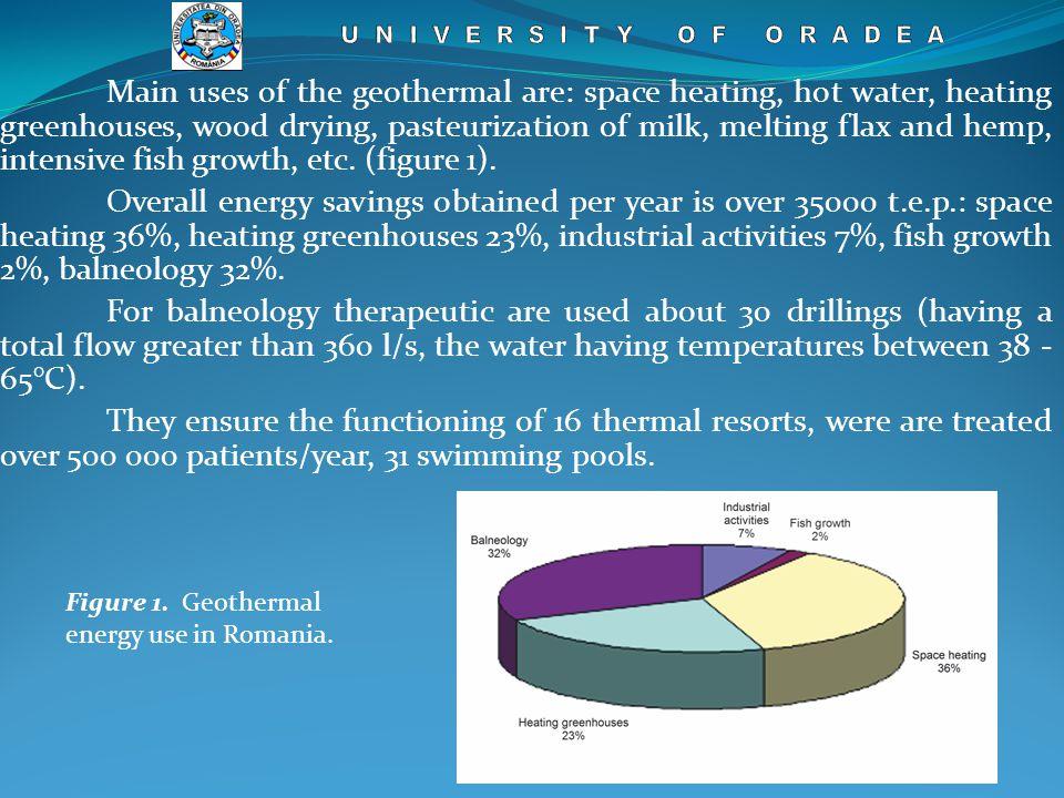 Figure 4. Geological profile of Oradea reservoir.