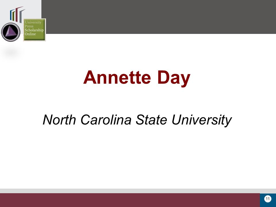 11 Annette Day North Carolina State University