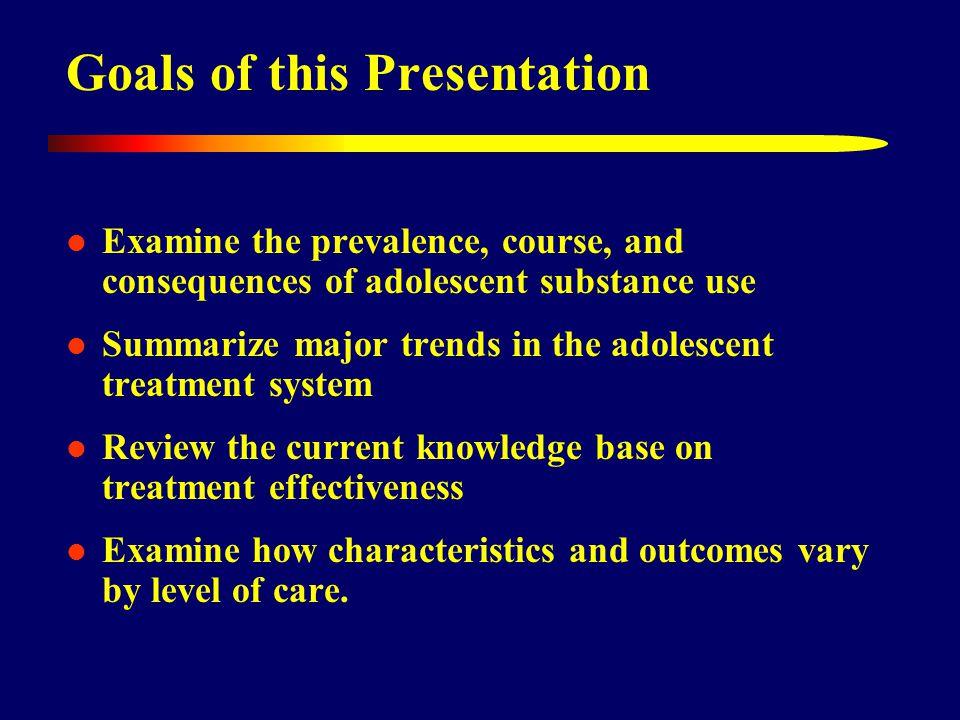 High Rates of Victimization Source: Adolescent Treatment Model (ATM) data