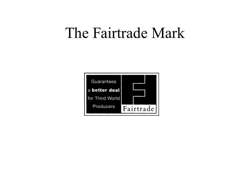 The Fairtrade Mark