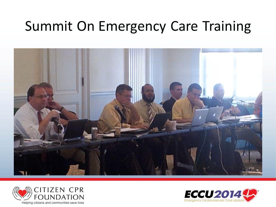 Summit On Emergency Care Training