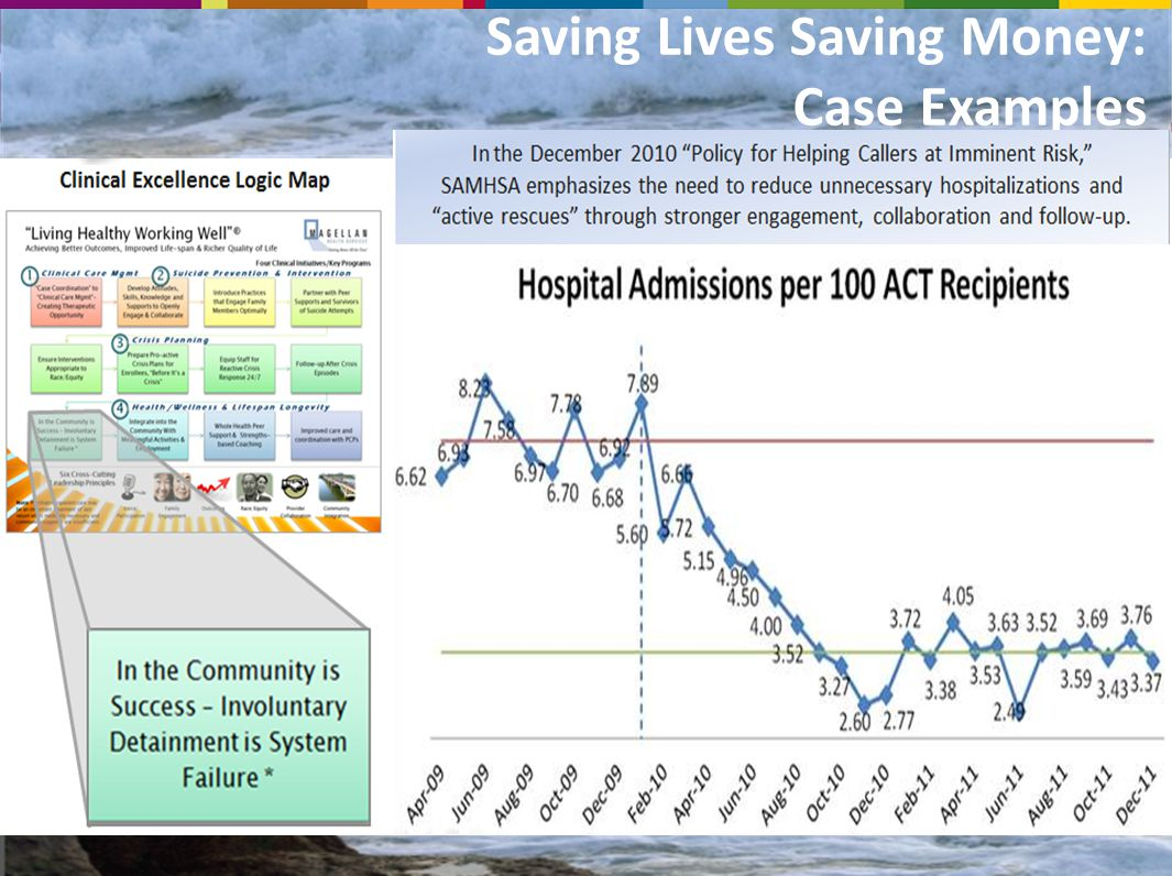 Saving Lives Saving Money: Case Examples