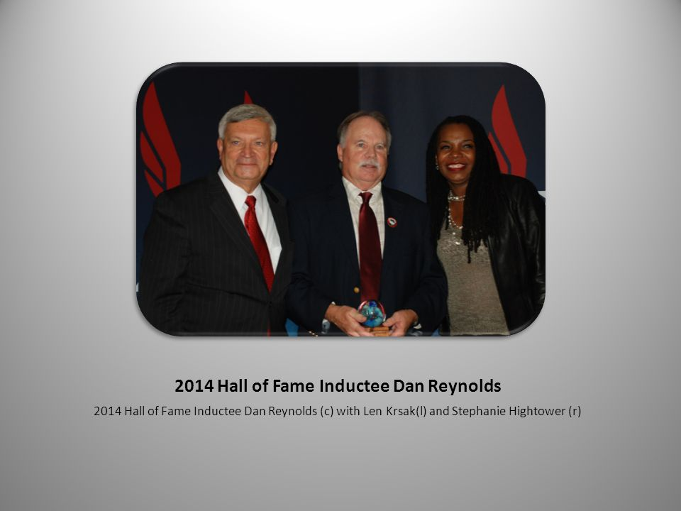 2014 Hall of Fame Inductee Eric D.Zemper 2014 Hall of Fame Inductee Eric D.