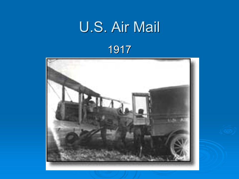U.S. Air Mail 1917