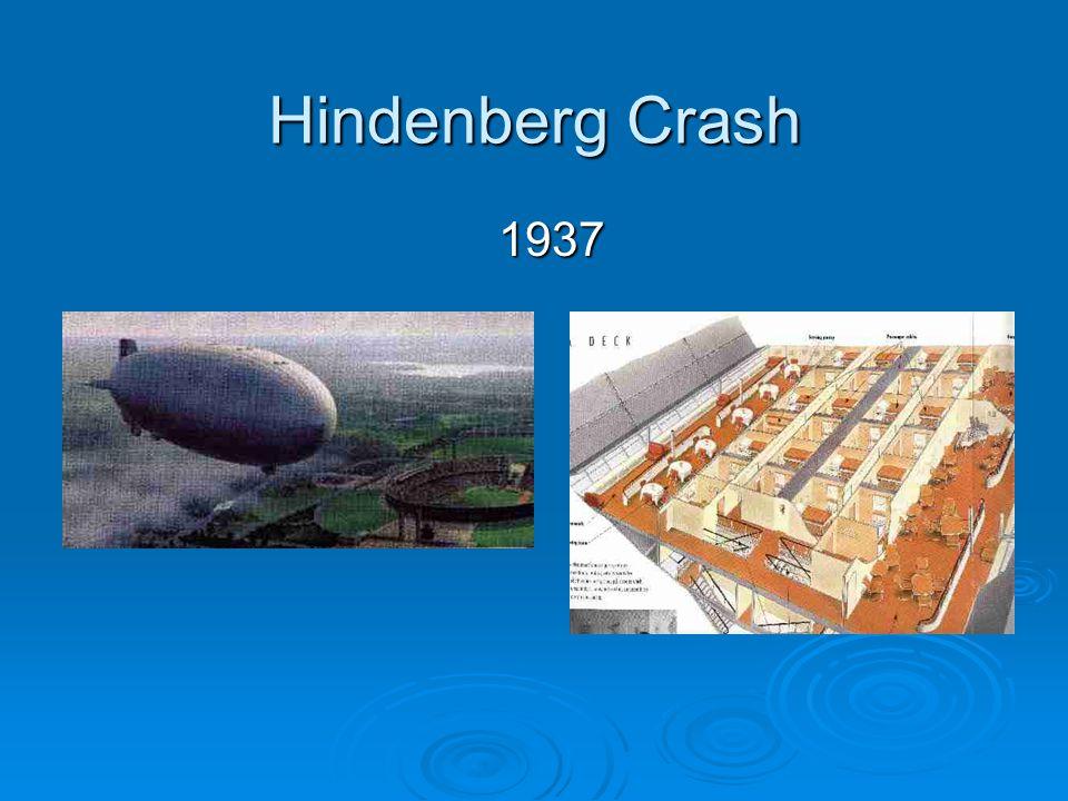 Hindenberg Crash 1937