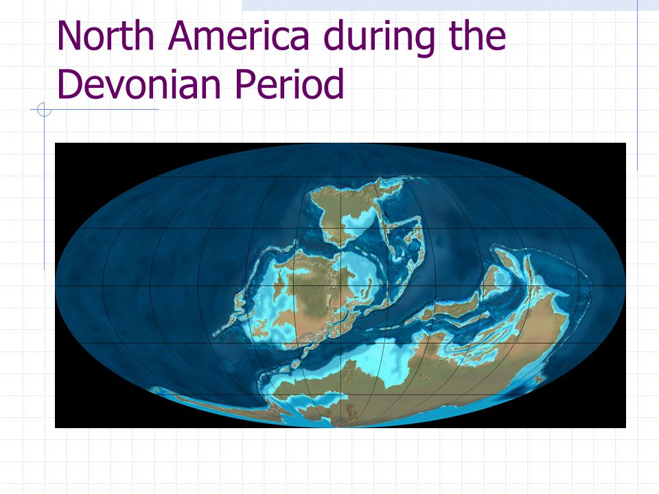 North America during the Devonian Period