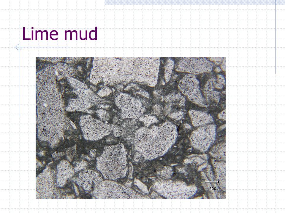 Lime mud