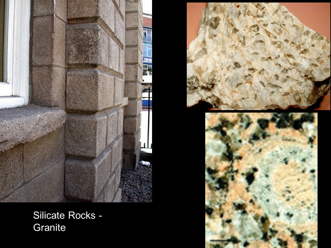Limestone is sandwiched between clastic silicate rocks Carb.