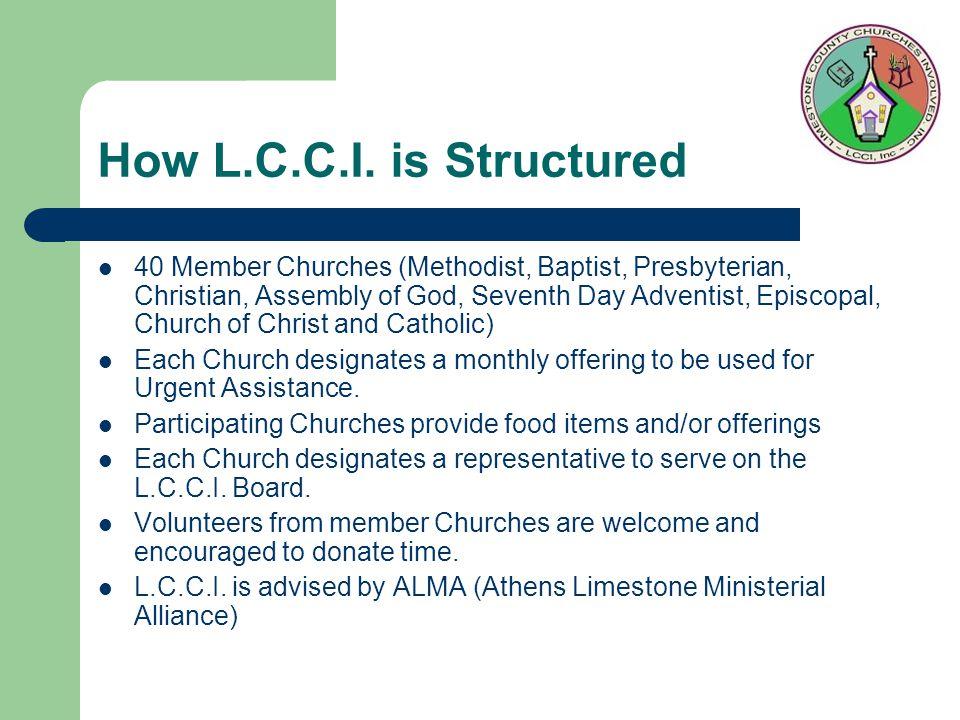 How L.C.C.I.