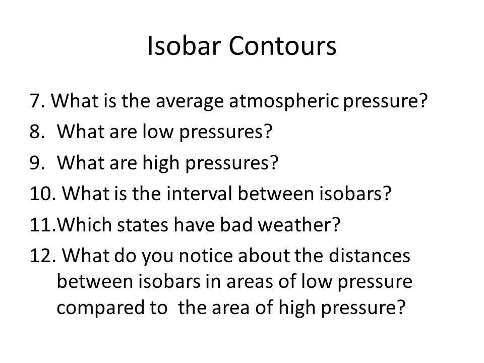 Isobar Contours http://theweatherwiz.com/school/chpt2a.htm