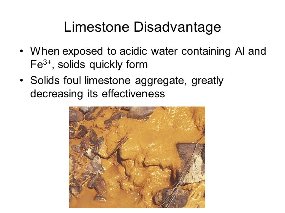 Project Goals Understand why the effectiveness of limestone treatment is reduced by Al and Fe solids.